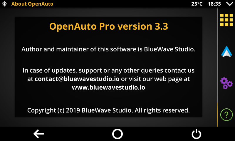 OpenAuto Pro 3 3 is available, car head unit solution
