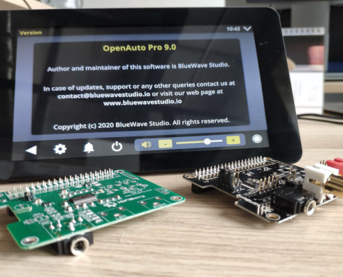 Use OpenAuto Pro with HiFiBerry DAC