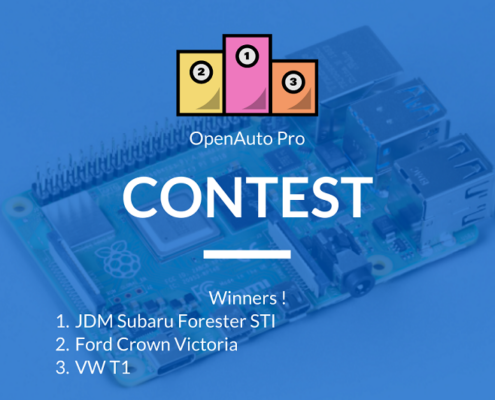 Win Raspberry Pi 4 with OpenAuto Pro – results