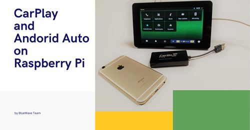 We are at Kickstarter, CarPlay with Raspberry Pi