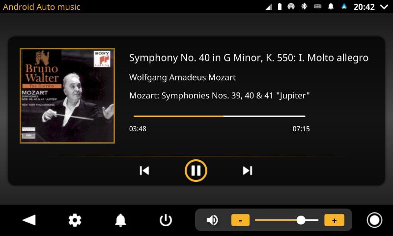 openauto android auto music